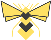 Honey Bee Hive logo