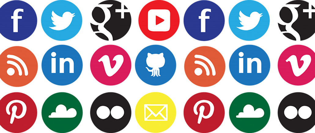 Social share icons