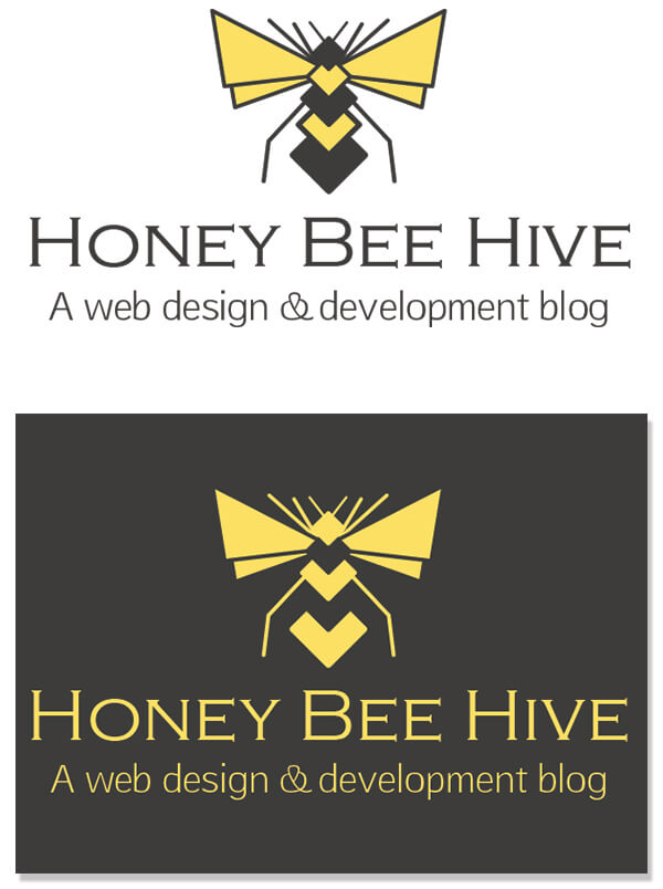 Honey Bee Hive logos