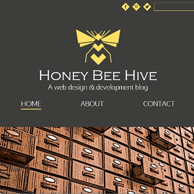 Honey Bee Hive blog