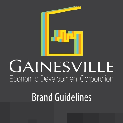Gainesville Economic Development Corporation identity